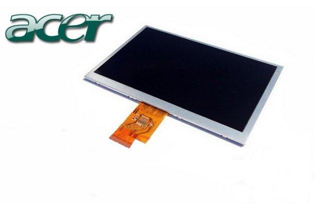 Фирменный LCD-ЖК-сенсорный дисплей-экран-стекло с тачскрином на планшет Acer Iconia Tab A100/A101 черный и инструменты для вскрытия + гарантия