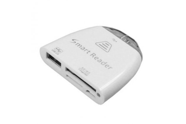 USB-переходник + карт-ридер для Acer Iconia Tab A3-A10/A3-A11