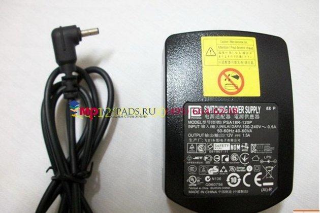 Фирменное оригинальное зарядное устройство от сети для планшета Acer Iconia Tab B1-A71 + гарантия