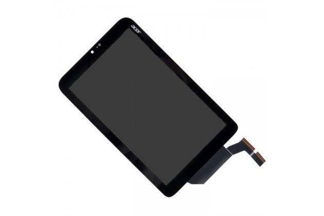 Фирменный LCD-ЖК-сенсорный дисплей-экран-стекло с тачскрином на планшет Acer Iconia Tab W3-810/W3-811 черный и инструменты для вскрытия + гарантия