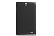 """Фирменный умный чехол самый тонкий в мире для планшета Acer Iconia One 8 B1-850-K0GL (NT.LC4EE.002) 8.0 """"Il Sottile"""" черный кожаный"""