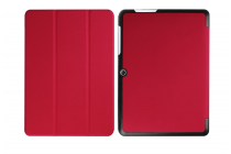 """Фирменный умный тонкий чехол для Acer Iconia One B3-A20 10.1"""" """"Il Sottile"""" красный пластиковый"""