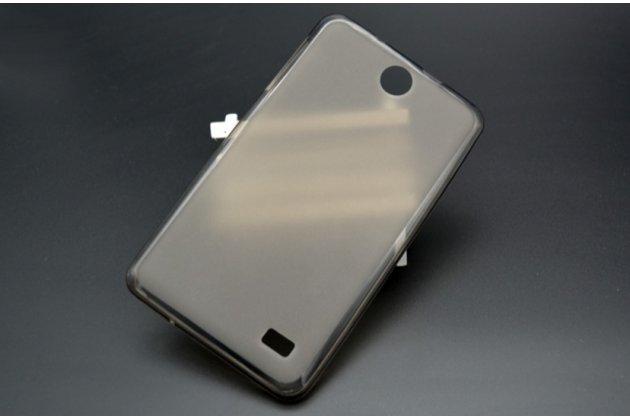 """Фирменная ультра-тонкая полимерная из мягкого качественного силикона задняя панель-чехол-накладка для планшета Acer Iconia Talk 7 B1-723 3G 7.0"""" черная"""
