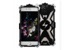 """Противоударный усиленный ударопрочный фирменный чехол-бампер на металлической основе для iPhone 7 4.7"""" черного цвета"""