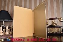 """Фирменный умный чехол-книжка самый тонкий в мире для iPad Pro 12.9 """"Il Sottile"""" золотой пластиковый"""