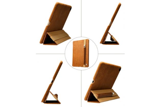 """Чехол для закрепления стилуса на чехле планшета/ переноски стилуса вместе с планшетом для iPad Pro 9.7"""" / iPad Pro 12.9"""" кожанный"""