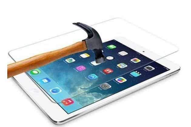Фирменное защитное закалённое противоударное стекло премиум-класса из качественного японского материала с олеофобным покрытием для Apple iPad Air 1