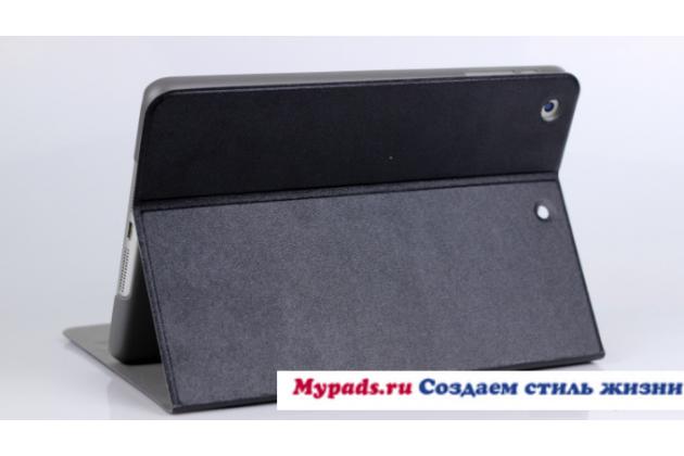 Фирменный чехол-футляр-книжка для iPad Mini 2 with Retina display черный кожаный
