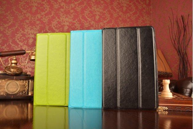 Чехол с вырезом под камеру для планшета Acer Aspire Switch 10 New (SW5-015) с дизайном Smart Cover ультратонкий и лёгкий. цвет в ассортименте