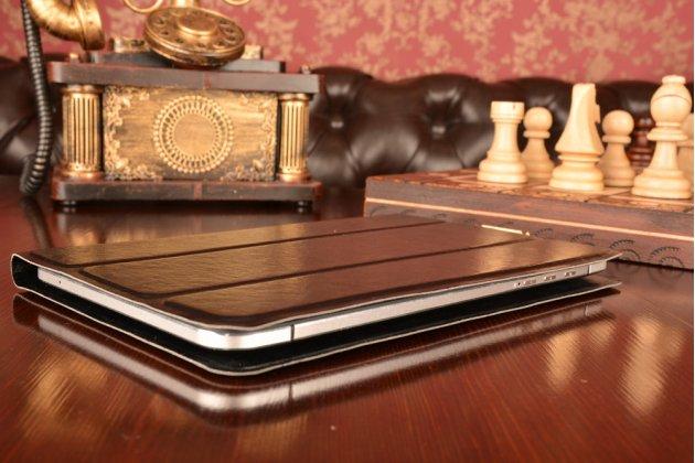 Чехол с вырезом под камеру для планшета iPad 2 с дизайном Smart Cover ультратонкий и лёгкий. цвет в ассортименте
