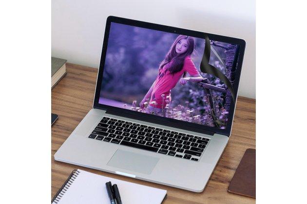 Фирменная оригинальная 3D защитная пленка с закругленными краями которое полностью закрывает экран для телефона Apple MacBook 12 Early 2015 / 2016 / Mid 2017 ( A1534 / A1527) глянцевая