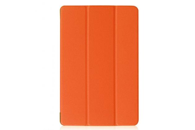 Фирменный умный чехол самый тонкий в мире для Acer Iconia One 10 B3-A30 iL Sottile оранжевый пластиковый Италия