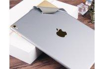 Фирменная оригинальная защитная пленка-наклейка на твёрдой основе, которая не увеличивает планшет в размерах для iPad Pro 12.9 серебряная