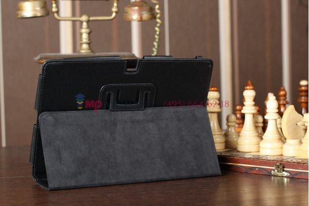 Чехол-обложка для Acer Iconia Tab A510/A511 черный кожаный Оригинал